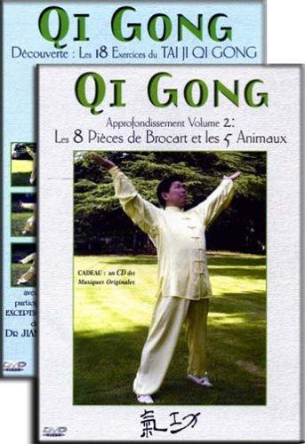 Coffret Qi Gong - Inclus 2 CD