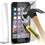 Apple Iphone 6 Plus 5.5 Inch Pack Of 1 Templado superior de cristal Crystal Clear LCD Protectores de pantalla Packs Con paño de pulido y Tarjeta de aplicación por ONX3
