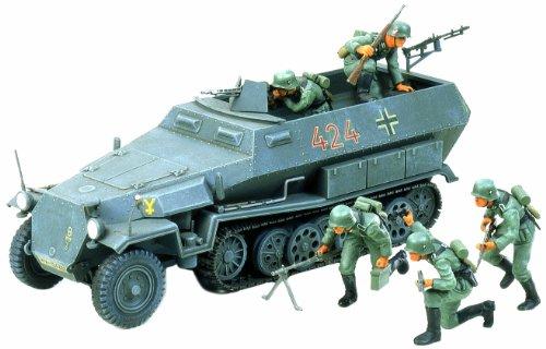 Preisvergleich Produktbild Tamiya 300035020 - 1:35 WWII Sdkfz.251/1 Hanomag (5), Halbkettenfahrzeug