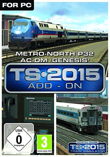 MetroNorth P32 ACDM 'Genesis' Loco AddOn