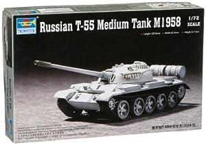 Trumpeter 7282  - Tanque Medio T-55 Ruso M1958