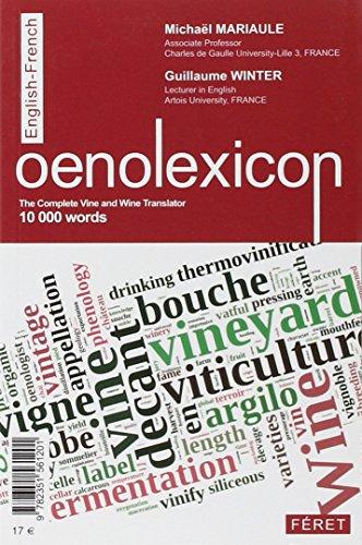 OENOLEXIQUE (FRANCAIS-ANGLAIS)
