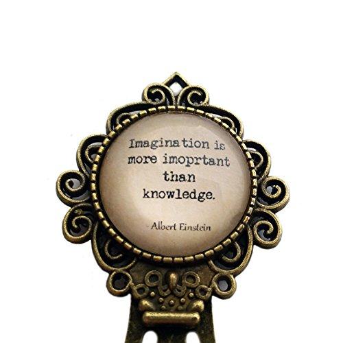 albert-einstein-imagination-is-more-important-than-knowledge-segnalibro
