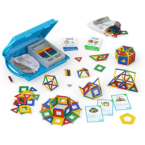 Geomag Education 224 - Shape and Space Panels - Magnetstangen Spielzeug - 324-teilige Box