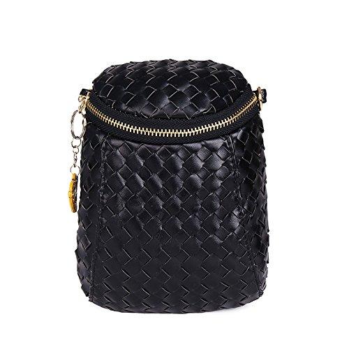 Mefly Neue Handy Tasche 2017 Sommer Absatz Oblique Umhängetasche Fashion Bag Black