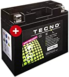 GEL Batterie YT12B-4 Yamaha TDM 900 2002-2011 von TECNO
