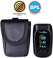 BPL Medical Technologies BPL Smart Oxy Finger Tip Pulse Oximeter (Black)