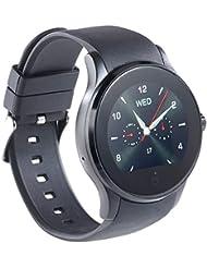 simvalley MOBILE Handy-Uhr & Smartwatch für iOS & Android mit Bluetooth & Herzfrequenz