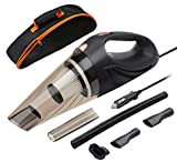 Car Vacuum Cleaner, SCOPOW DC 12V 106W Wet/Dry Auto Vacuum...