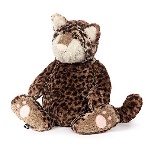 sigikid, Stofftier für Erwachsene und Kinder, Katze, Cat Astrophe, BeastsTown, Braun und Schwarz, 38725