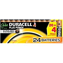 Duracell DUR019058 Plus Power AAA Batterien (24 Stück)