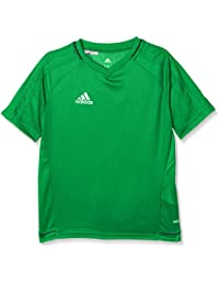 adidas Tiro 17 Training Jersey Youth Camiseta, niños, Verde (Negro/Blanco)