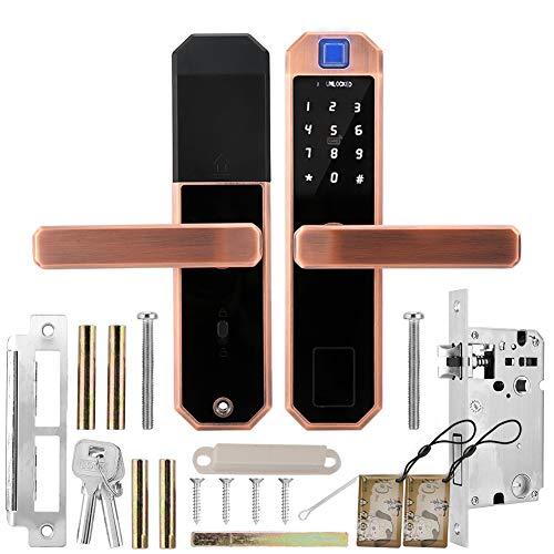 Fingerabdruck-Türschloss, Smart Keyless Bronze Diebstahlsicherungssystem für das Home Office