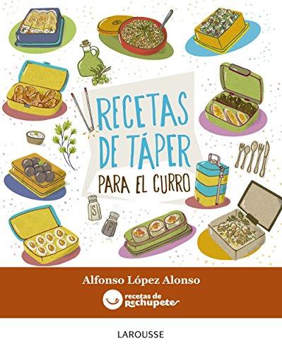 Portada del libro Recetas de táper para el curro (Larousse - Libros Ilustrados/ Prácticos - Gastronomía)