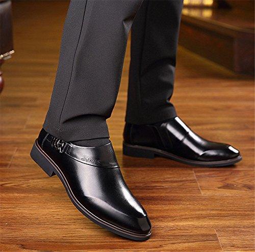 gli uomini sono scarpe eleganti business scarpe eleganti scarpe casual di cuoio black