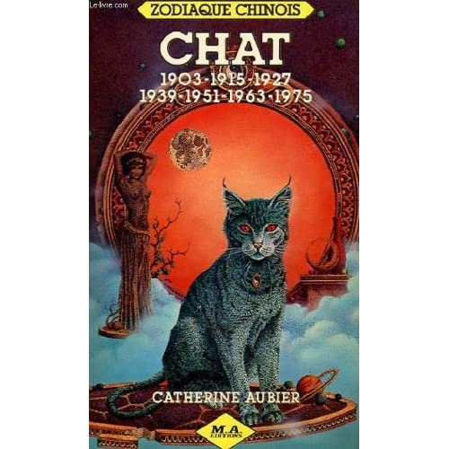 Chat : 1903, 1915, 1927, 1939, 1951, 1963, 1975 (Zodiaque chinois)