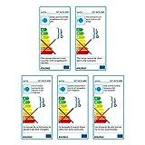 parlat 5er-Set LED Pflasterstein CUS Bodenleuchte für außen, warm-weiß, IP67, 230V, 10x10cm Test