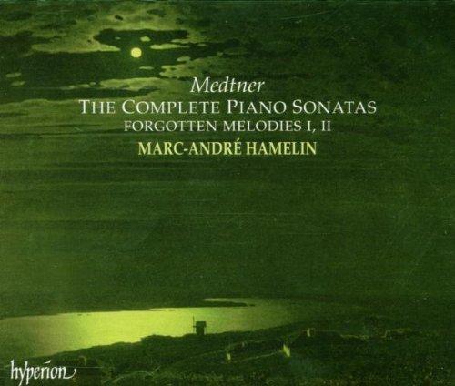 Medtner: Complete Piano Sonatas, Forgotten Melodies / Hamelin by Marc-Andre Hamelin (1998-10-27)