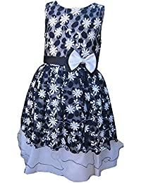 KCL London Girls Dress by Pretty Bow Dress Blue Party/Prom Ages 2 Years up to 13 Years