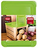 Snips A04066/01 Bac Conserveur Légumes, Plastique, Jaune, 17 x 9,2 x 5 cm