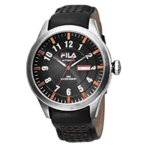 Fila men 39 s fa0796 06 automatic highway watch watches for Fila watches