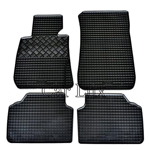 Car Lux Tapis de sol sur mesure en caoutchouc pour bMW serie 1F20depuis 2010-