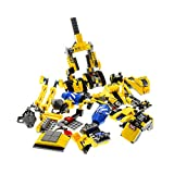 Bausteine gebraucht 1 x Lego System Set Modell für 70814 The Lego Movie Emmet's Construct - o - Mech Roboter Ketten Abriss gelb Incomplete unvollständig
