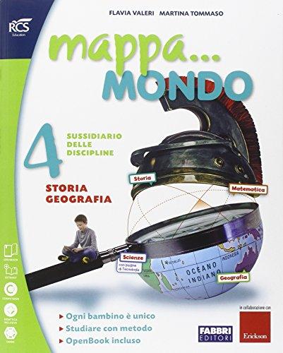 Mappa. mondo. Antropologico. Quaderno. Per la 4ª classe elementare. Con e-book. Con espansione online