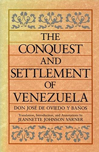 Descargar Libro The Conquest and Settlement of Venezuela de Jose de Oviedo y Banos