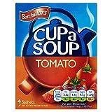 Batchelors Tomate Taza De Sopa-A-4 X 23,3g (Paquete de 6)