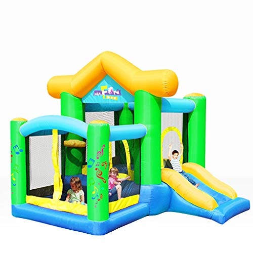 Bouncy Castles Sports Toys Indoor Small Children's Trampoline Children's Slide Children's Inflatable Amusement Park Children's Pool Indoor Children's Inflatable Toy House