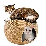 HOUYAZHAN Scratch Board Spielzeug Katze Scratch Board Corrugated Katze Wurf Ball...