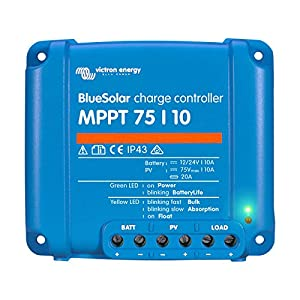 Solarregler Victron Energy BlueSolar MPPT 75/15 12V 24V 15A