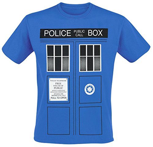 Dr Who - T-Shirt - Manches Courtes - Homme