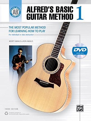 Alfred's Basic Guitar Method 1 (Third Edition): The Most Popular Method for Learning How to Play - incl. DVD (Alfred-gitarre Dvd)