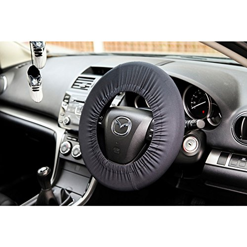 Disklok DE 86515 Black Steering Wheel Protection Cover – Black