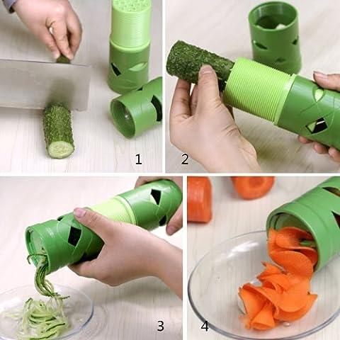 Big Bargain multifunzione frutta verdura Twister Cutter Affettatrice Utensile dispositivo di