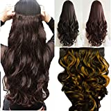 Artifice 5 Clips Curly/Wavy Hair Extensi...