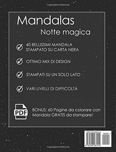 Zoom IMG-1 libro da colorare adulti mandalas