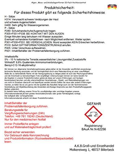 AKB Grünbelagentferner (10L) - 2