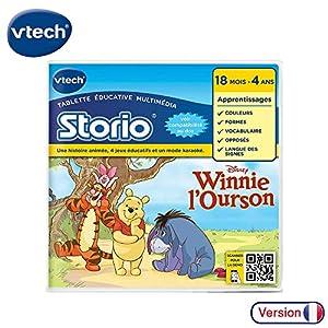 VTech - Juego Educativo, Storio 2 Winnie The Pooh (233105) (versión en francés)