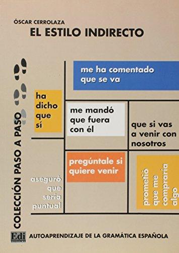 El estilo indirecto (Paso a Paso) por Oscar Cerrolaza