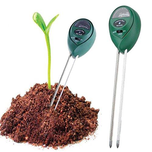 Beige Fliesen-böden Legen (sunnymi Hohe Qualität ★ 3 in1 Blumen Boden PH Tester ★Feuchtigkeitsmessgerät Hydroponik-Analysator/Gartenpflanze Blume)