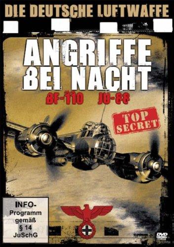 Die deutsche Luftwaffe - Angriffe bei Nacht BF-110 und JU-88
