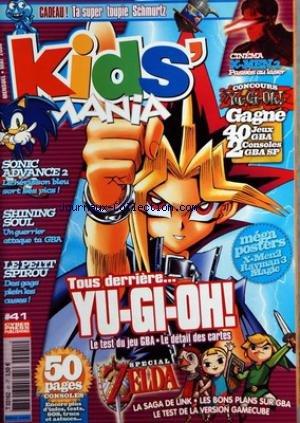 X Men Gamecube - KIDS' MANIA [No 41] du 01/07/2003 -