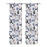 Best IkEA Blinds - IKEA Silverbuske Curtains, 1 pair, multicolor cotton / Review