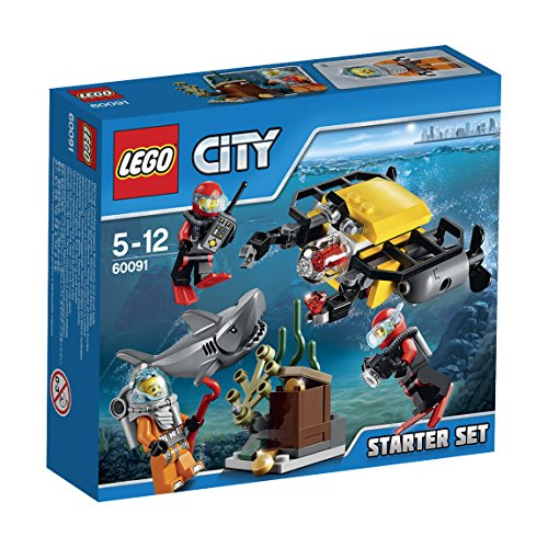 LEGO City 60091 – Tiefsee Starter-Set