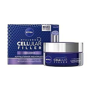 Nivea anti-age aufpolst ernde Noche Cuidado, Tiegel, ácido hialurónico Cellular Filler, 50ml