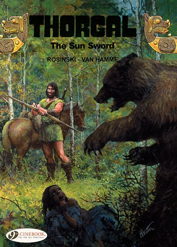 Thorgal - tome 10 The Sun Sword (10) par Rosinski