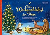 Das Weihnachtsfest der Tiere: Ein Folien-Adventskalender zum Vorlesen und Gestalten eines Fensterbildes - Katharina Mauder, Stephanie Stickel (Illustr.)